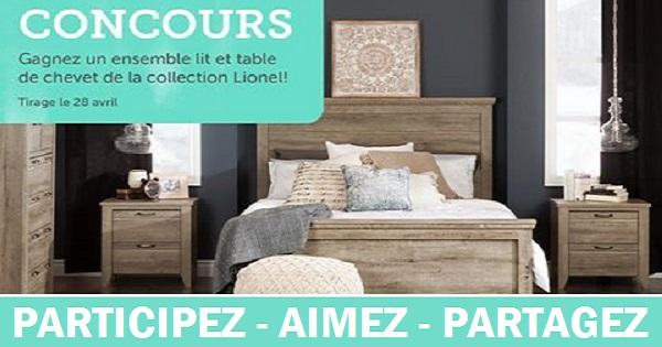 Concours gagnez un lit et une table de chevet de la - Meubles la redoute nouvelle collection ...
