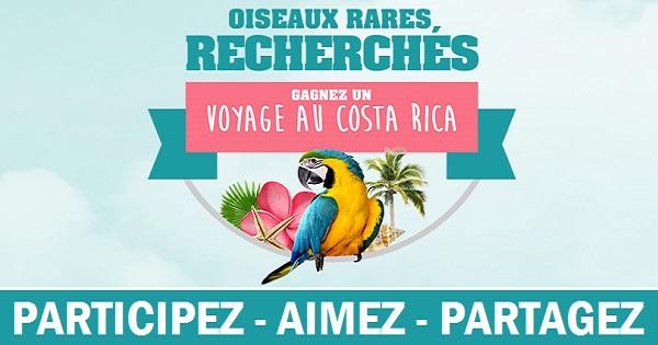 Concours Gagnez un voyage au Costa Rica pour deux!