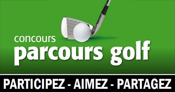 Concours Gagnez 4 droits de jeux (18 trous) ainsi que 2 voiturettes pour jouer au golf!