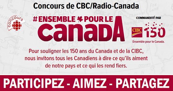 Concours Gagnez un voyage inoubliable grâce à CBC/Radio-Canada!