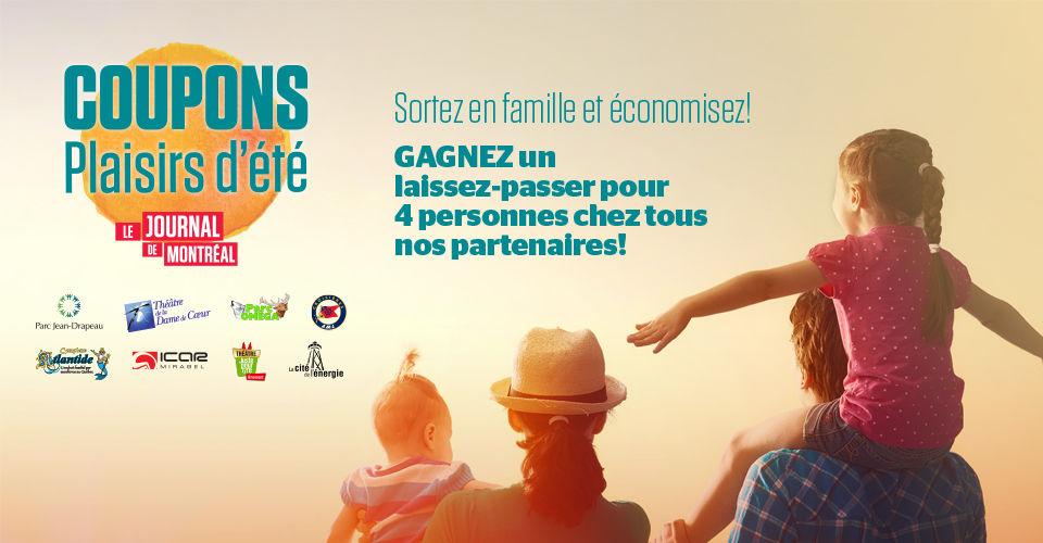 Concours Plaisirs d'été du Journal de Montréal!
