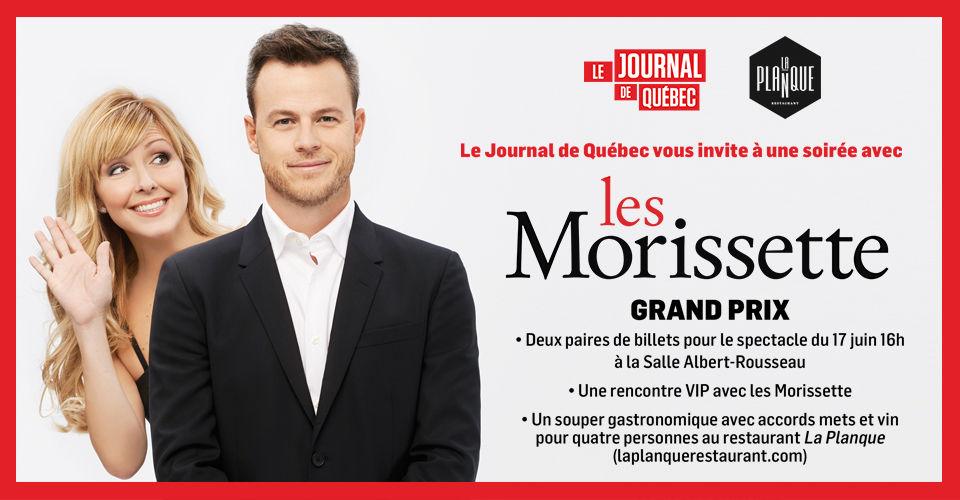 Concours Les Morissette!