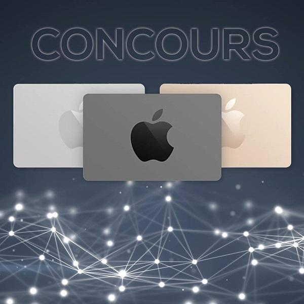 concours gagnez une carte cadeau de 100 du apple store concours en ligne qu bec. Black Bedroom Furniture Sets. Home Design Ideas