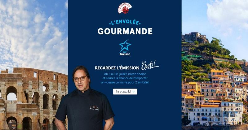 Concours Gagnez un voyage culinaire pour 2 en Italie!