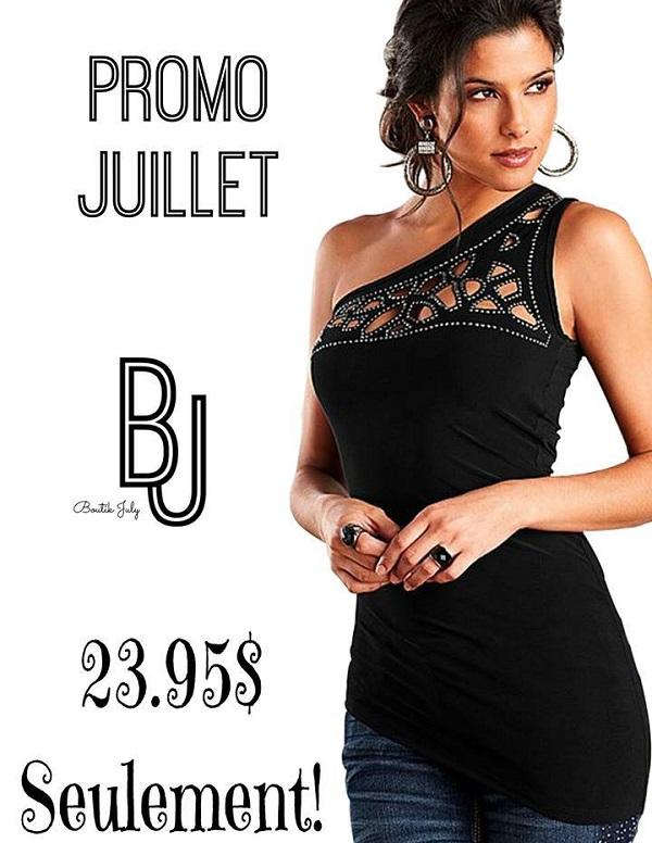 Concours Gagnez un superbe top de la Boutik July!
