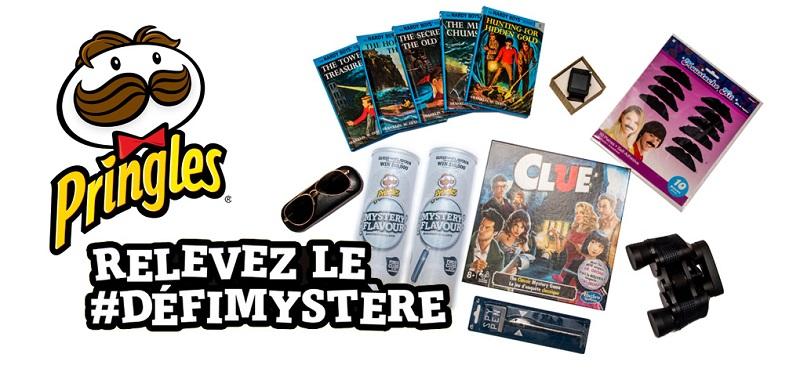 Concours Gagnez l'ensemble Pringles saveur mystère pour découvrir quelle sera la nouvelle saveur de chips!