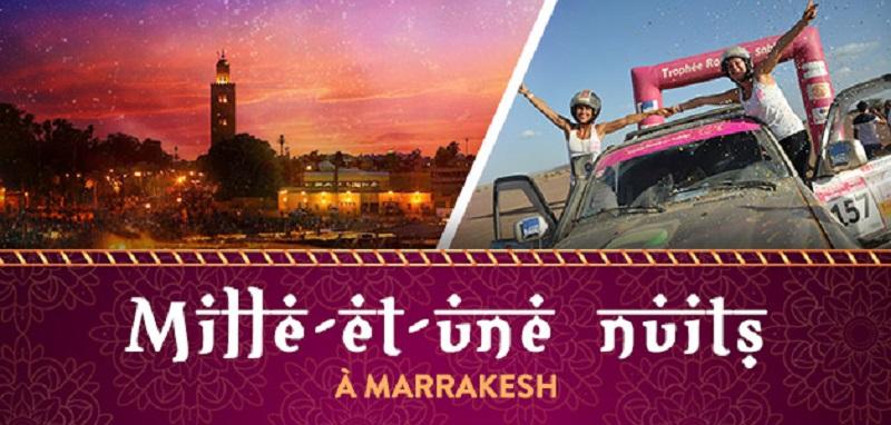 Concours Les mille-et-une nuits à Marrakech!