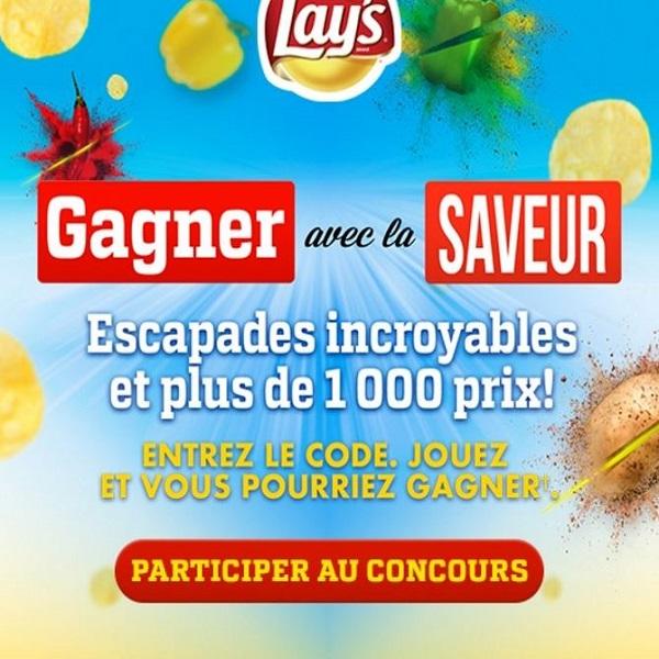 Concours Gagnez d'incroyables escapades  et plus de 1 000 prix!