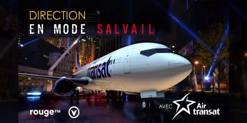 Concours Direction En mode Salvail avec Air Transat !