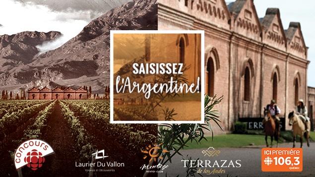 Concours Gagnez un voyage en Argentine!