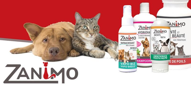 Concours Gagnez un ensemble de soins Zanimo pour chats et chiens!