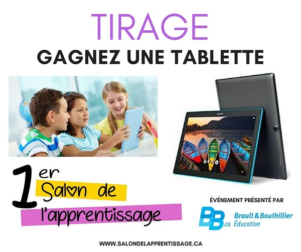 Concours Gagnez une magnifique tablette Lenovo!