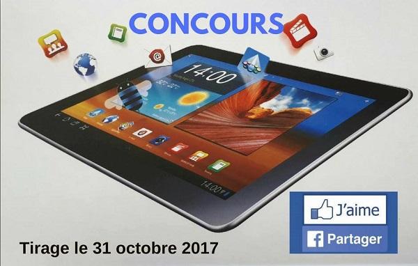 Concours GAGNEZ une tablette offerte par Voyage Vasco La Plaine!