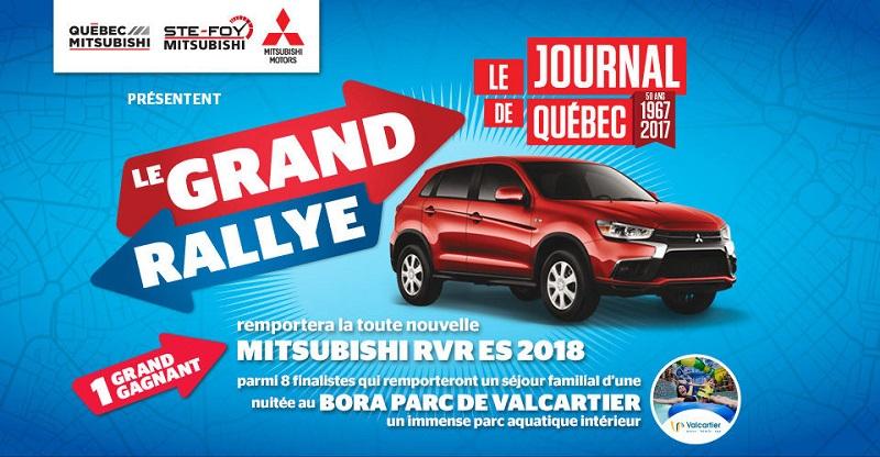Concours Gagnez la toute nouvelle Mitsubishi RVR ES 2018!