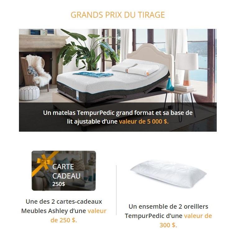 Concours Tournez La Roue De Meubles Ashley Concours En Ligne Quebec