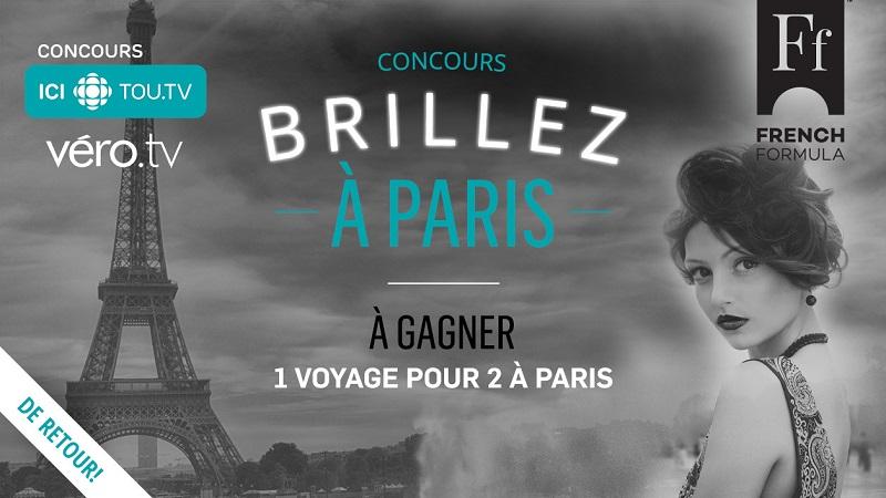 Concours Gagnez un voyage pour 2 personnes à Paris!