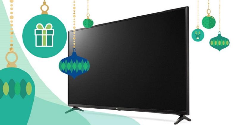 Concours Gagnez une télévision LG 4K de 49''!