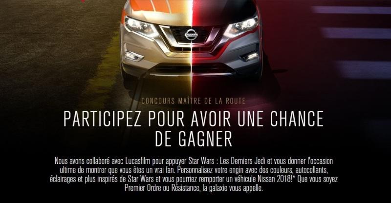 Concours Gagnez un véhicule Nissan2018!