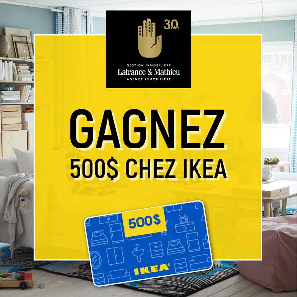 concours gagnez une carte cadeau de 500 chez ikea concours en ligne qu bec. Black Bedroom Furniture Sets. Home Design Ideas