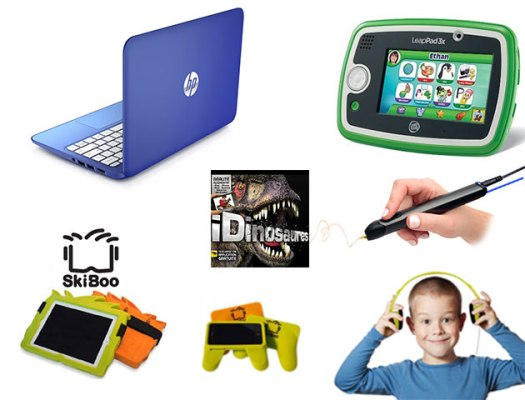 Concours Gagnez un ensemble-cadeau techno pour les enfants!
