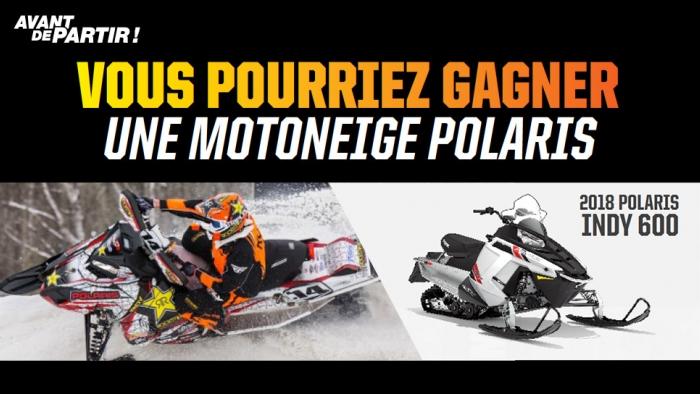 Concours Gagnez une motoneige Polaris Indy 600!