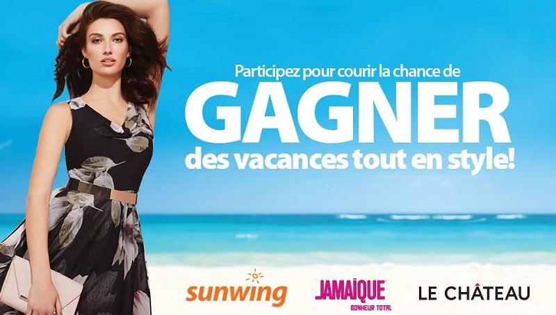 Concours Gagnez des vacances tout en style!