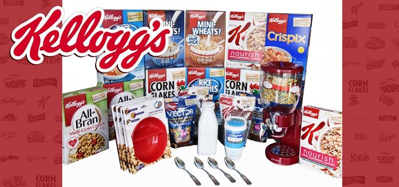 Concours Gagnez l'ensemble ultime des amateurs de céréales Kellogg's!