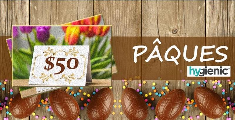 Concours Gagnez l'une des deux cartes-cadeau Laura Secord pour la fête de PÂQUES!