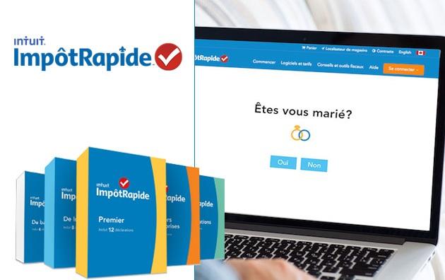 Concours Gagnez le logiciel d'impôt en ligne ImpôtRapide!