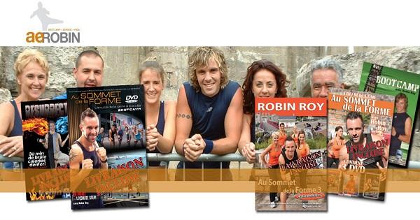 Concours Gagnez un ensemble de DVD d'entraînement de Robin Roy!