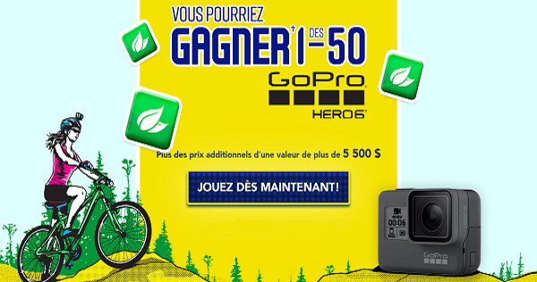 Concours Gagnez une GoPro HERO6!