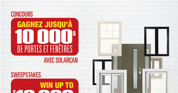 Concours gagnez jusqu 10 000 de portes et fen tres pour for Concevez votre maison parfaite en ligne