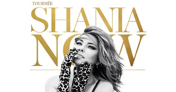 Concours Gagnez vos billets pour le spectacle de Shania Twain!