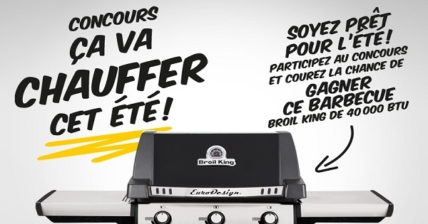 Concours Gagnez un barbecue Broil King!