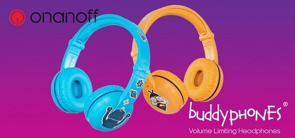 Concours Gagnez 50$ pour vous procurer des écouteurs BuddyPhones pour enfants!