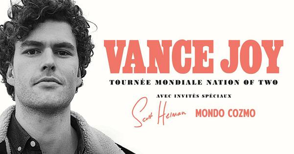 Concours Gagnez vos billets pour Vance Joy!