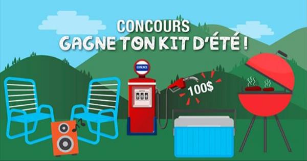 Concours Gagnez le kit parfait pour la saison estivale!