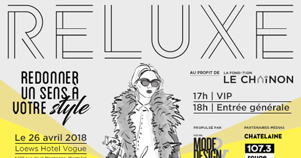 Concours Gagnez vos billets VIP pour Reluxe, une soirée shopping VIP!