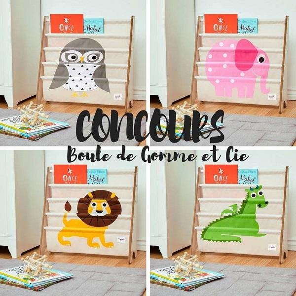 Concours gagnez une biblioth que compartiment pour enfants for Meuble aubaine mascouche circulaire