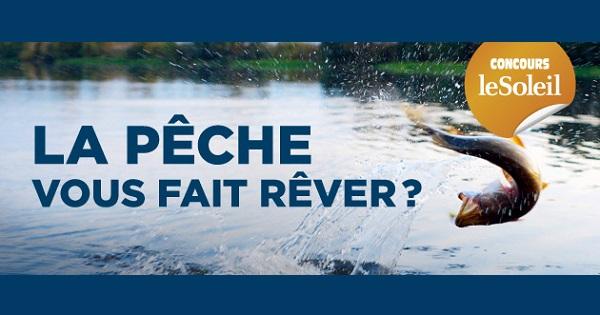 Concours Gagnez un forfait Prêt-à-pêcher pour 2 à la Pourvoirie La Seigneurie du Triton!