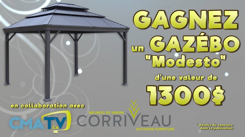 Concours gagnez un gaz bo modesto de corriveau meubles de for Acheter un composteur de jardin