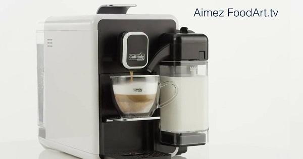 Concours Gagnez une machine Cappuccina blanche par Caffitaly!