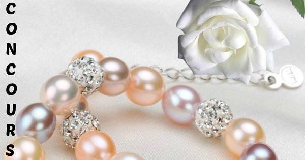 Concours Gagnez un bracelet de Perles d'eau douce et Cristal!