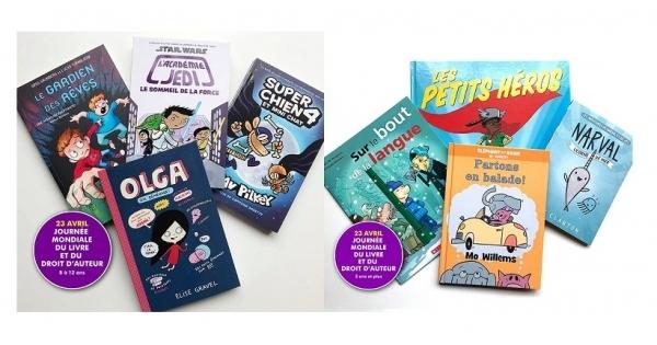 Concours Gagnez l'un des deux lots de livres offerts par les Éditions Scholastic!