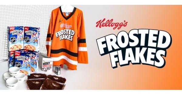 Concours Gagnez l'ensemble Kellogg's Frosted Flakes pour amateur de hockey