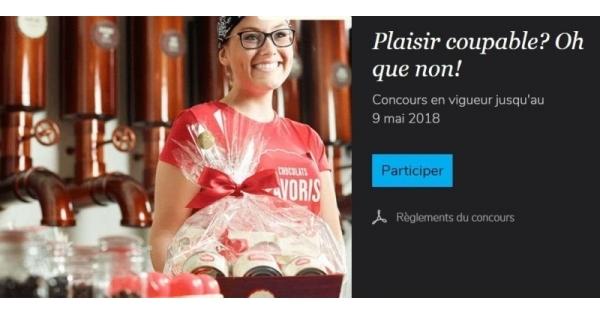 Concours Gagnez un magnifique panier-cadeau Chocolats Favoris!