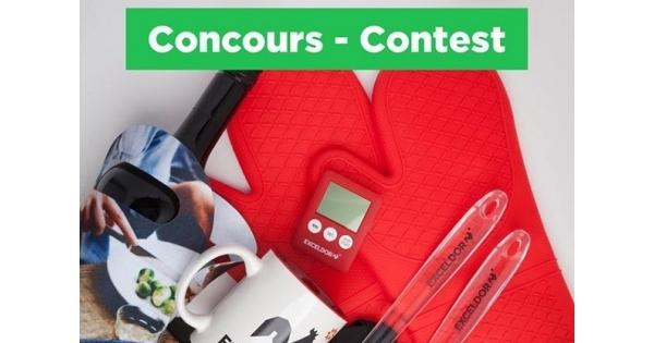 Concours Gagnez le kit parfait pour la prochaine saison du BBQ!