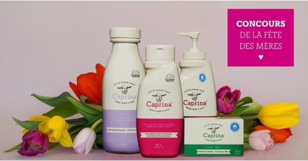 Concours Gagnez un panier-cadeaux remplis de produits doux et apaisants pour la peau!
