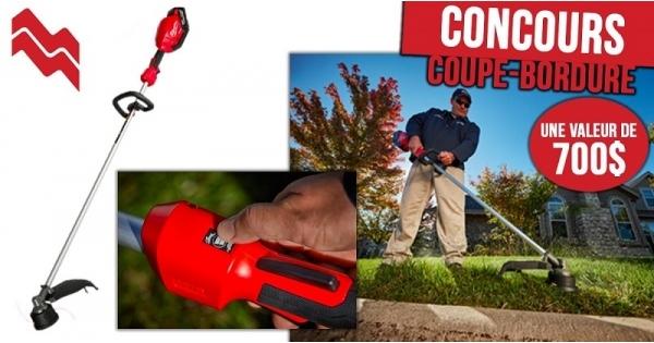 Concours Gagnez un coupe-bordures Milwaukee d'une valeur de 700$!
