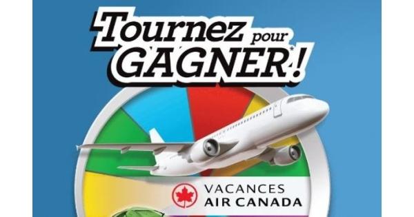 Concours Tournez Pour Gagner!